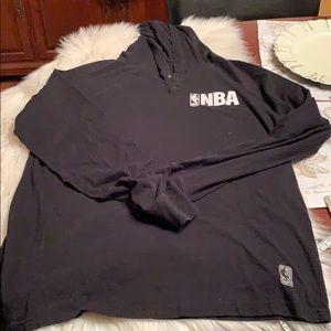 NBA Men's XL Lightweight Hoodie EUC Cotton/Poly